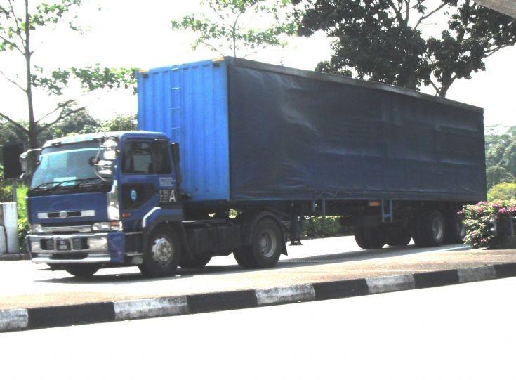 Nissan Diesel UD Big Thumb CK531ENT Series Tractor
