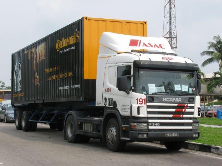 Scania P340 (KCK 1378)  ASAC