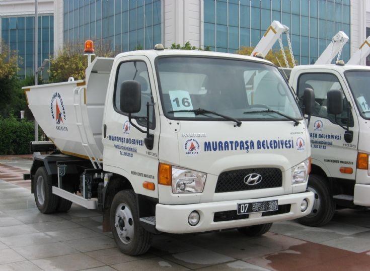 Hyundai HD35 Garbage Truck