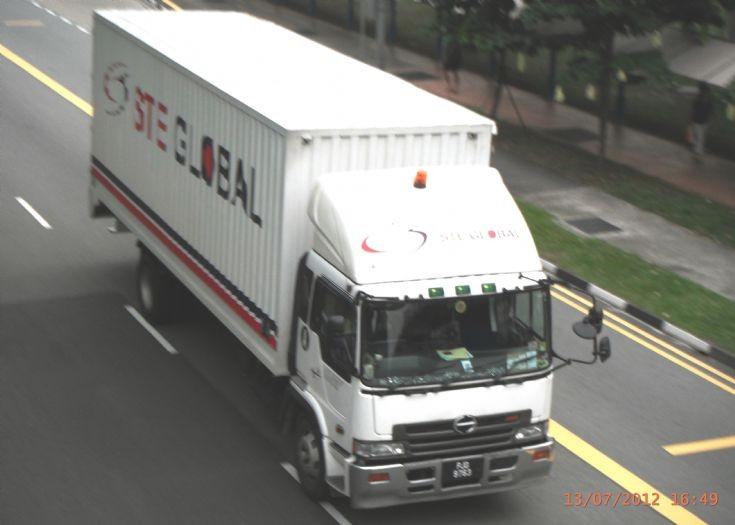 Hino Profia FH Series Box Truck STE Global