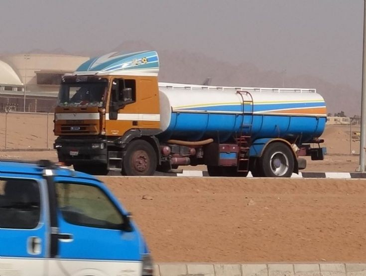 Iveco Water Tanker -  Egypt