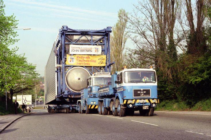 O.A.F /Nicolas Tractomas Heavy Haulage units