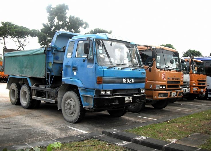 Isuzu Giga CXZ 71JD Series Dump Truck