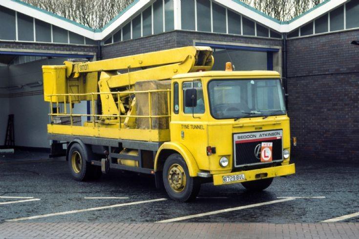 Seddon Atkinson B729BVL Tyne Tunnel 1998