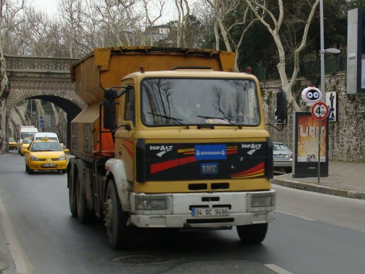 BMC Construction Truck, Turkey
