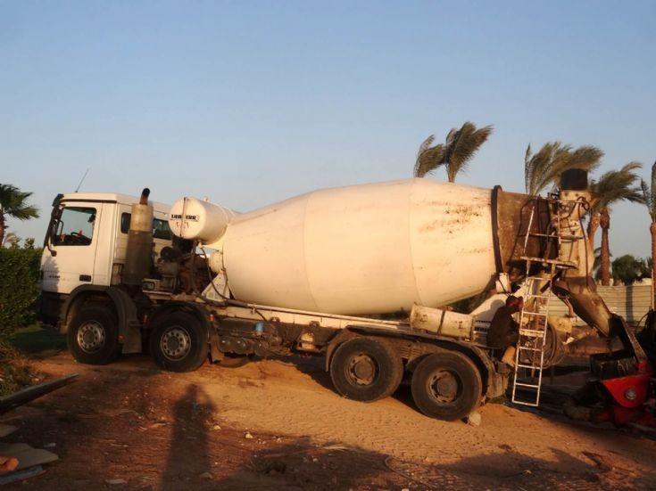 Mercedes Benz Liebherr Cement Mixer -  Egypt