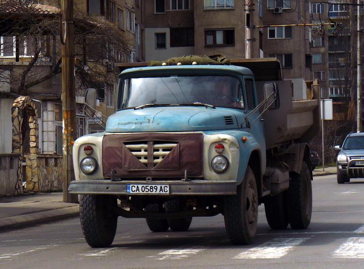 Zil 130 Dump Truck, Bulgaria