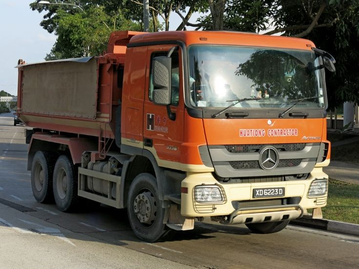 Mercedes Actros 3336 (XD 6223D)