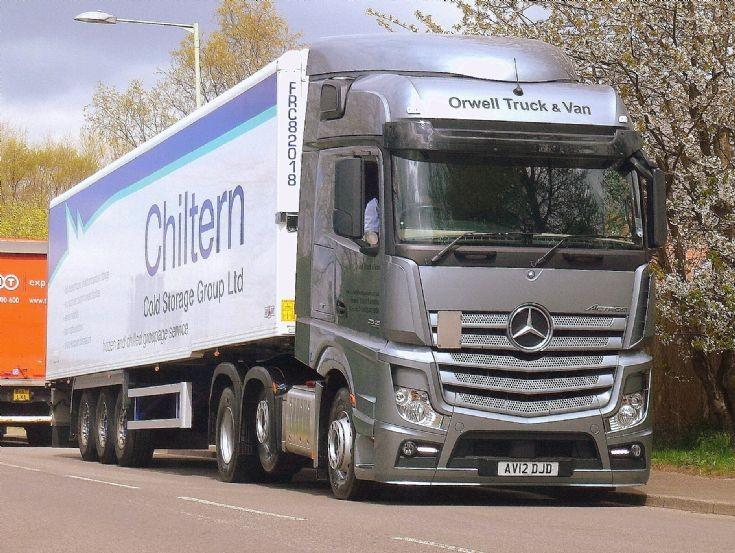 Mercedes Benz Actros 25/45 AV12 DJD. Trucks Image Library