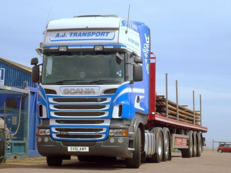 Scania  R730   Topline          SV61 AWY