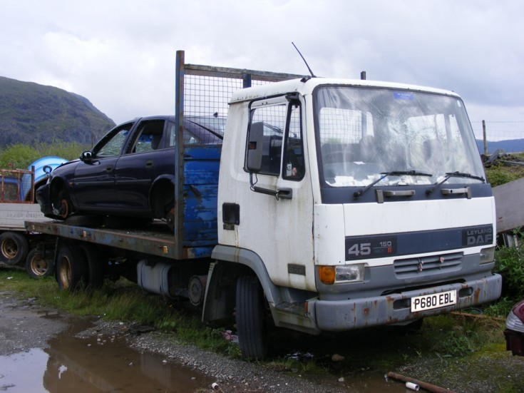 Leyland DAF 45 150 in reclaimable condition