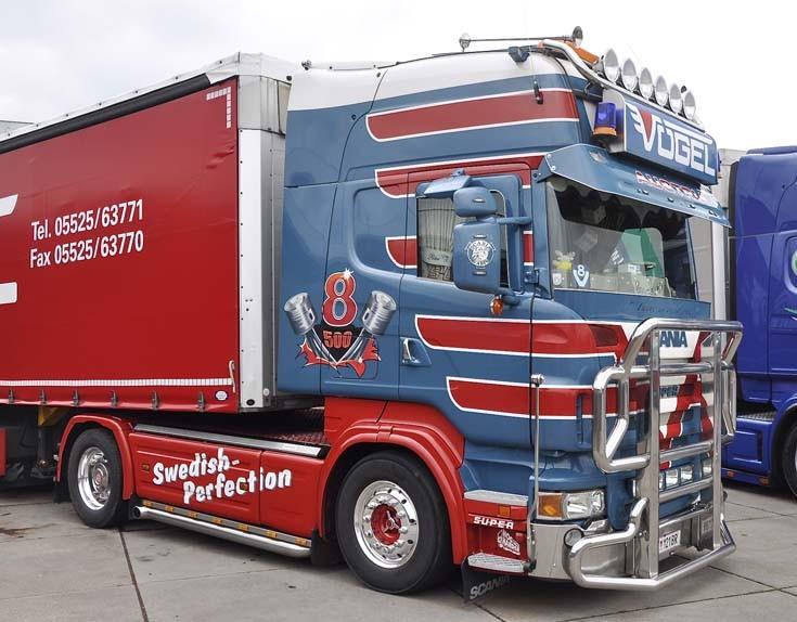 Truck Photos Scania R 500 Vogel Austria