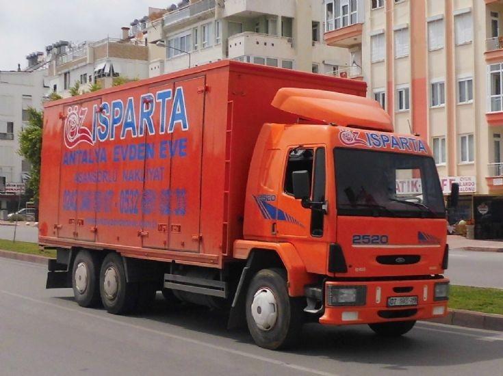 Ford Cargo - Öz Isparta Nakliyat
