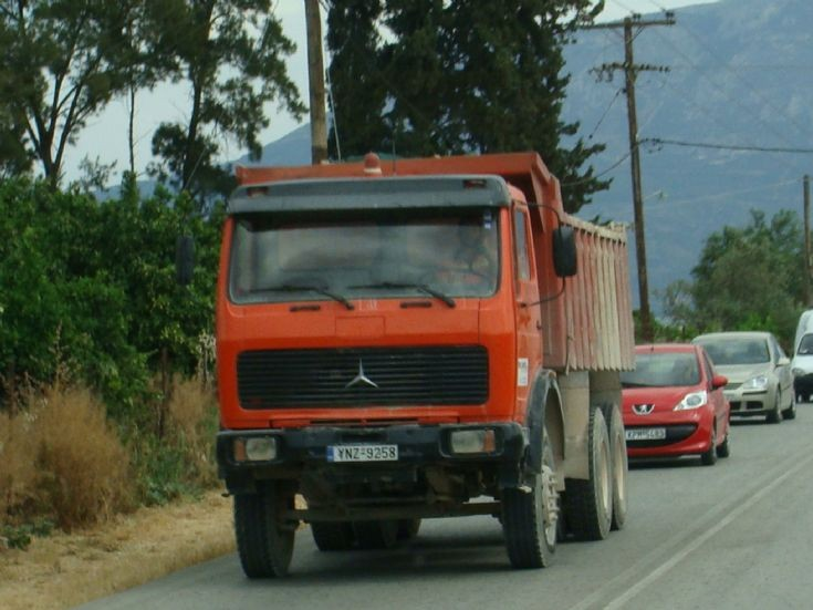 Mercedes-Benz Construction truck, Greece