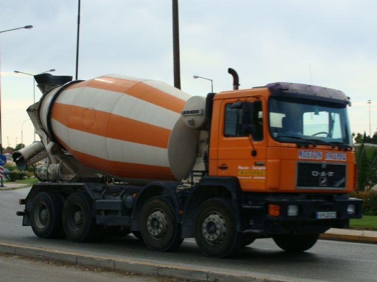 OAF Liebherr (?) Cement Truck
