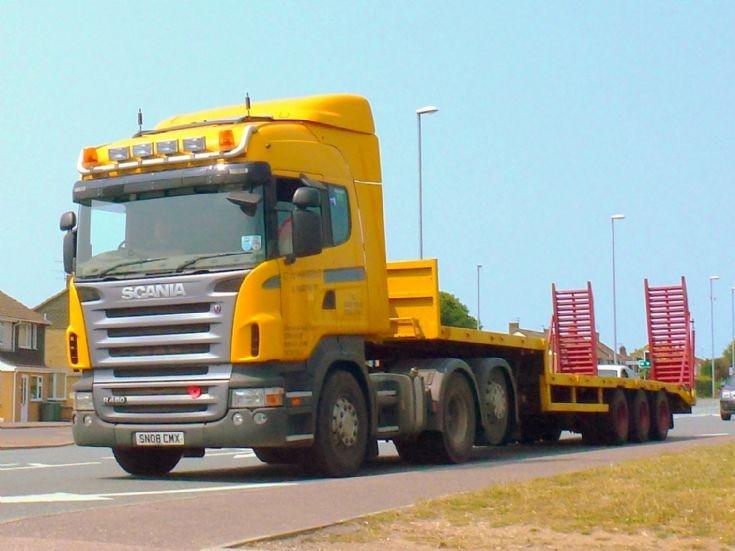 Scania R480                        SN08 CMX