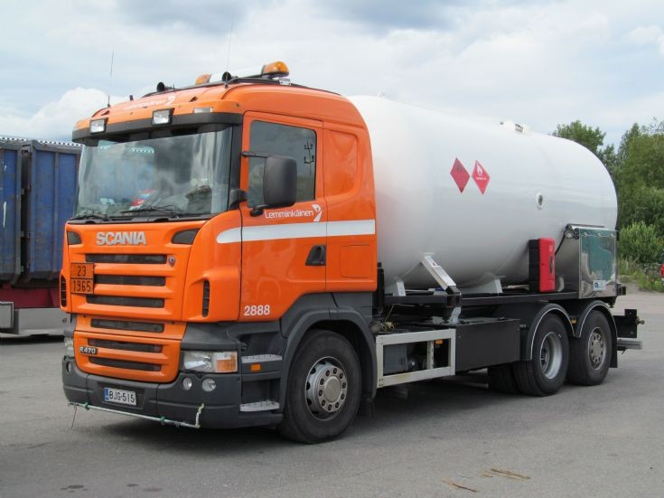Scania R470 6x2 Gas Tanker