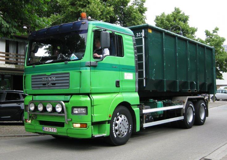 Man  TG LWB Weltjens Transport Bocholt ( B )