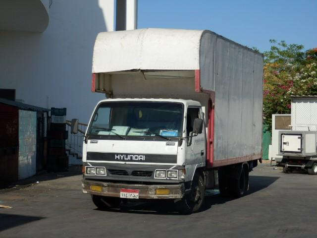 Hyundai truck - Egypt