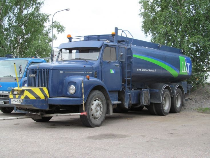 Scania LS 111 6x2 Road Washing Truck