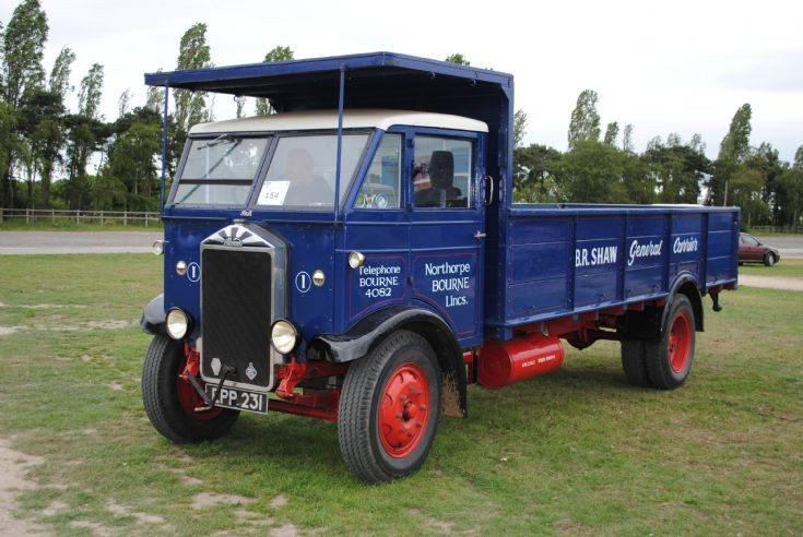 1938 Albion KL127 Fixed Side body