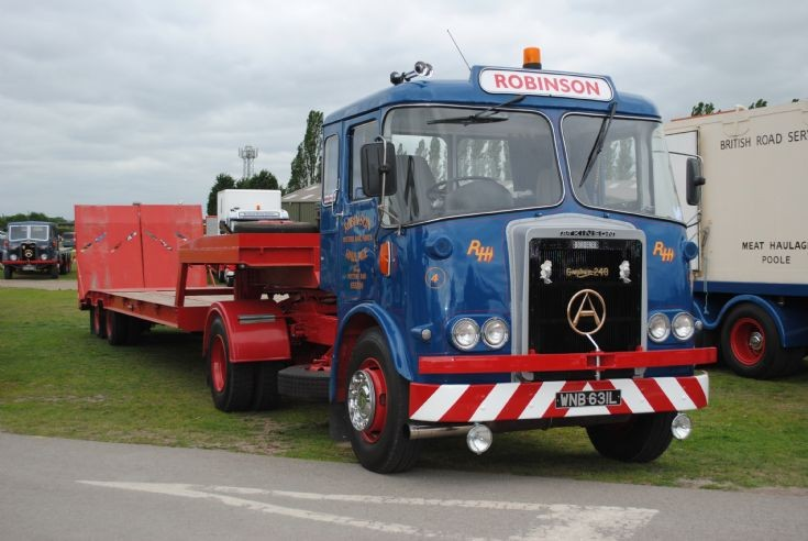 1971 Atkinson Borderer with lowloader