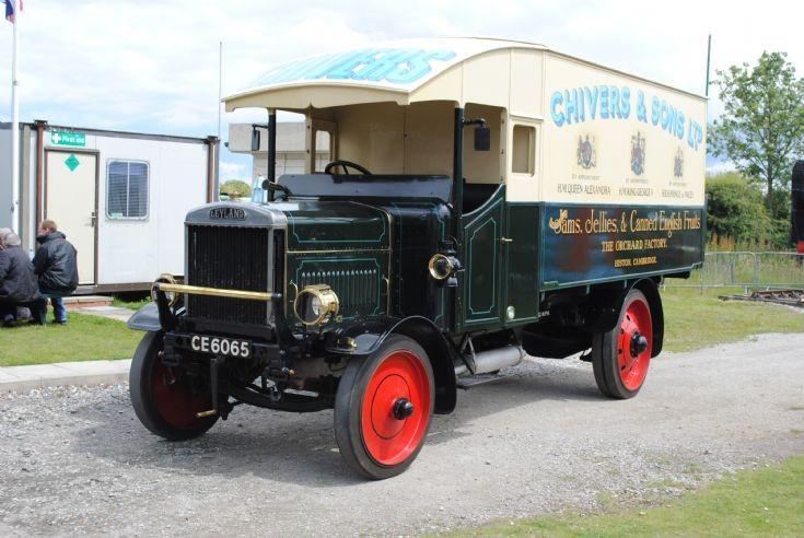 1919 - Leyland Raf Type Box Van