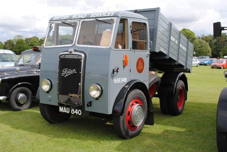 1950 Foden OG4/6 4x2 Tipper