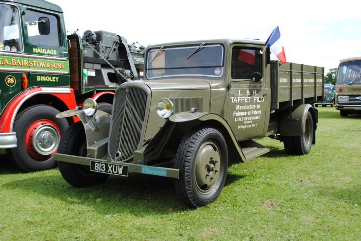 Citroen - Fixed side Lorry