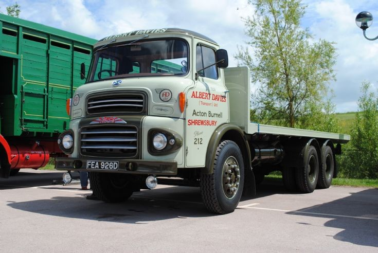 Albion Reiver 6x4 Flatbed