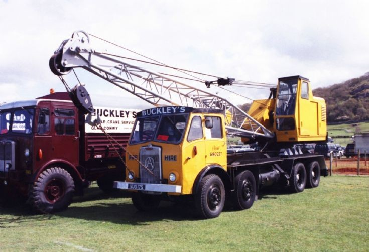 1950's Atkinson 8x4 Lorry Mounted Crane