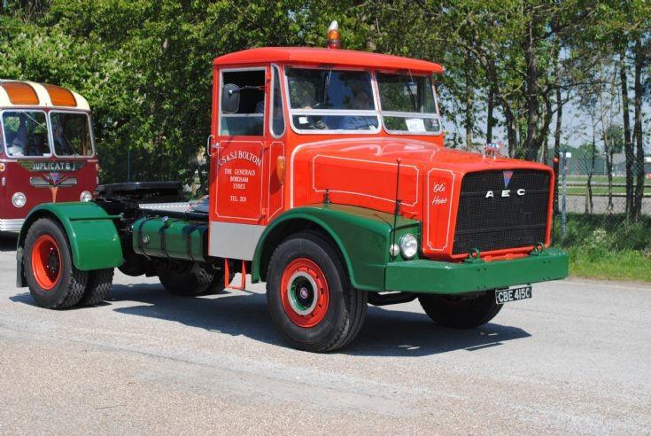 1965 Aec Mogul tractor