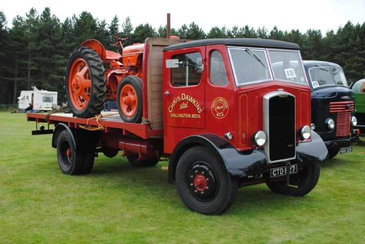 1937 Thornycroft Sturdy Flat Bed
