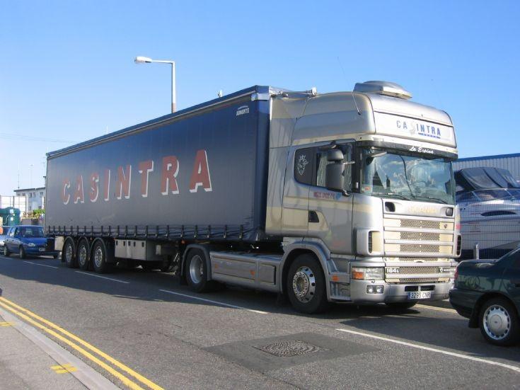 Casintra of Spain Scania 164L 480hp
