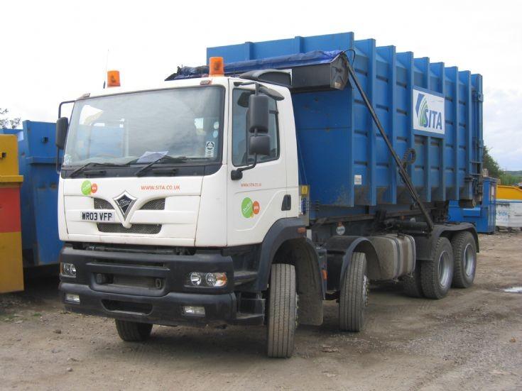 Sita 8w Foden Skip Lorry