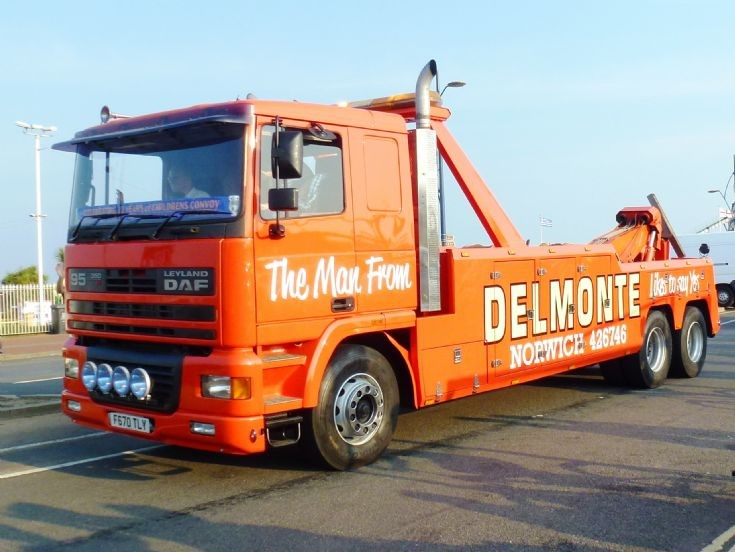Leyland Daf 95 wrecker   F670 TLY