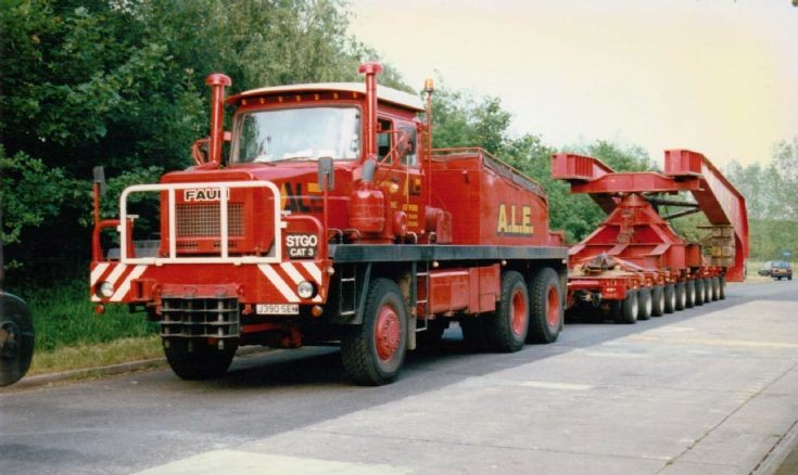 1991 Faun Koloss Heavy Haulage Tractor