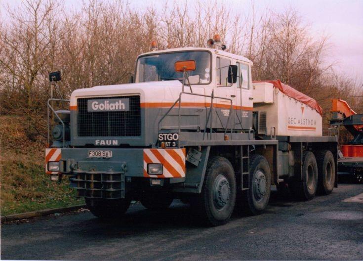 1989 Faun Goliath 8x8 Tractor