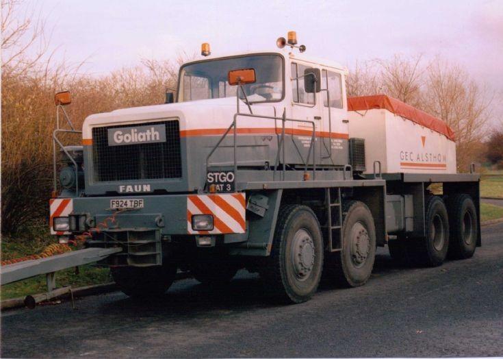 1989 Faun Goliath 8x8 Tractor (F924 TBF)