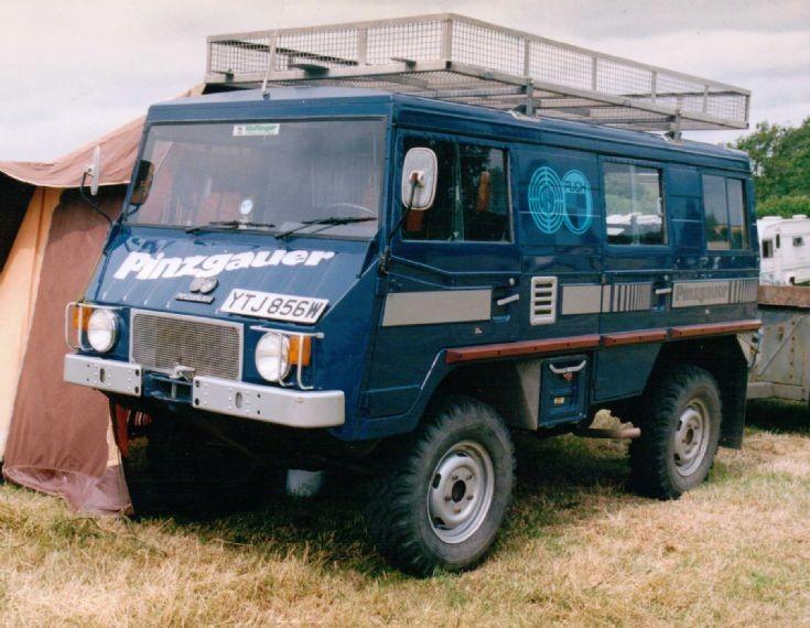 1980 Pinzgauer 4x4 Camper