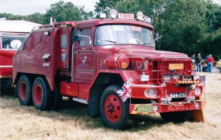 1959 Terberg N800 6x4 Fairground Tractor
