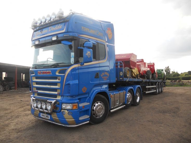 Truck Photos - Scania R620 Graham Dodds
