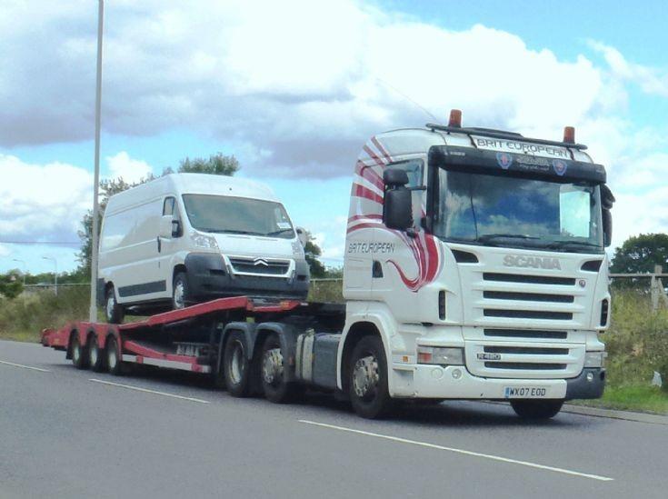 Scania R420 Hiline       WX07  EOO
