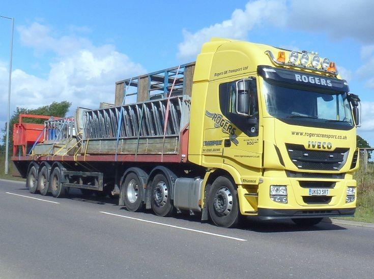 Iveco Stralis 500            UK63 SRT