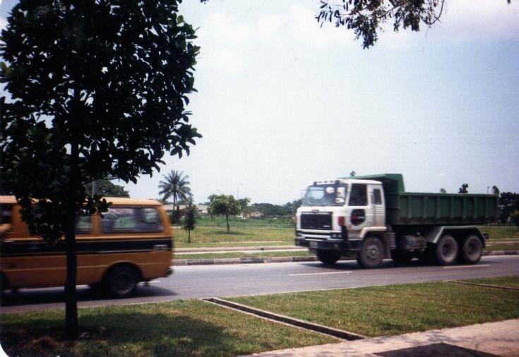 Nissan Diesel CWA45 dump truck