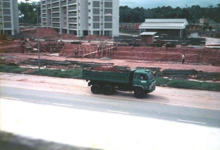 Nissan Diesel CK30 dump truck