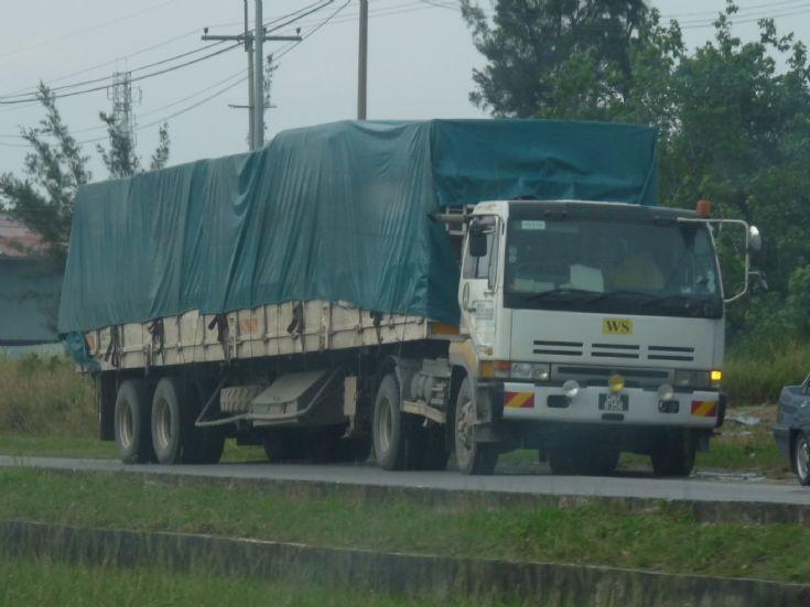 Nissan Diesel cargo trailer