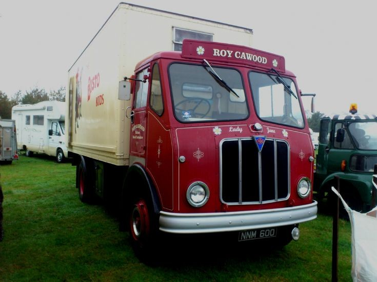 Aec box lorry