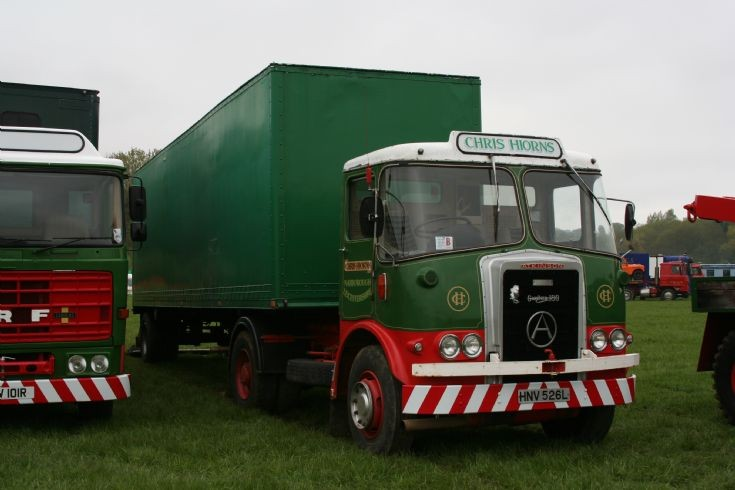 Atkinson tractor unit and box trailer