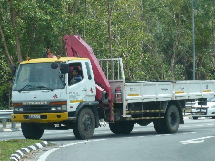Mitsubishi cargo truck